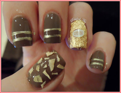ferrero-rocher-chocolate-nail-art