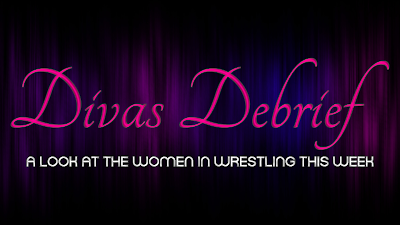 logo for Divas Debrief Women Wrestlers weekly rundown