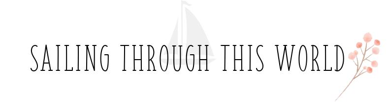 sailing through this world