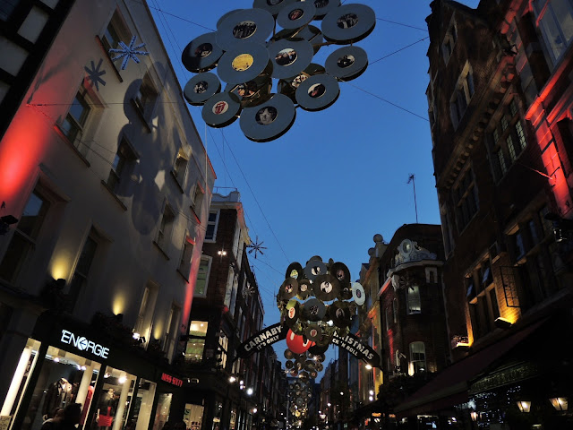 Carnaby Street Christmas Decorations 2012 - It's Only Rock & Roll