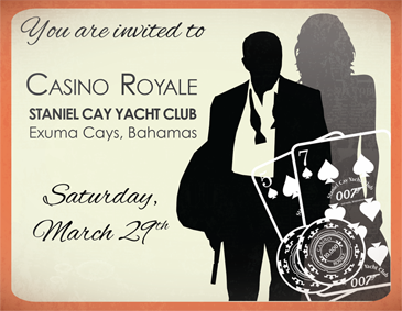 007 TRAVELERS 007 Event James Bond Casino Royal Party 28 March 2015