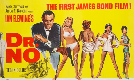 60s Movie Posters http://the60sat50.blogspot.com/2012/10/friday-october-5-1962-dr-no.html