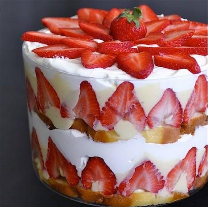 ... Scents Recipes : Memorial Day Dessert Recipe Strawberry Trifle