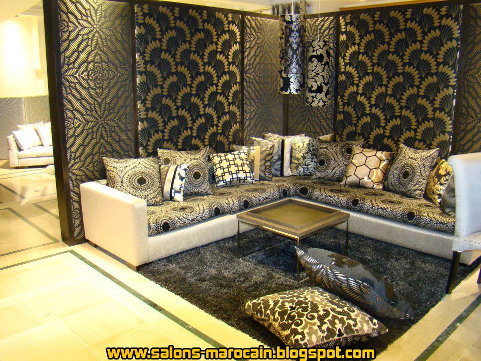 Awesome Model Salon Moderne Marocain Ideas - ansomone.us - ansomone.us