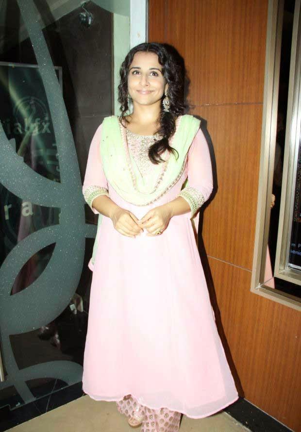 Vidya Balan at Bobby Jasoos Movie Trailer Launch