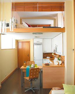 Morar melhor cozinhas pequenas com grandes ideias - Decorar piso 25 metros cuadrados ...