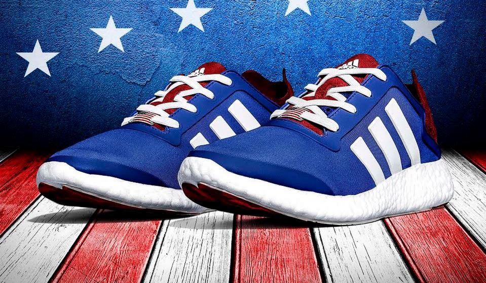 THE SNEAKER ADDICT: USA adidas Pure Boost Stars & Stripes USA ADDICT: Shoes a89080