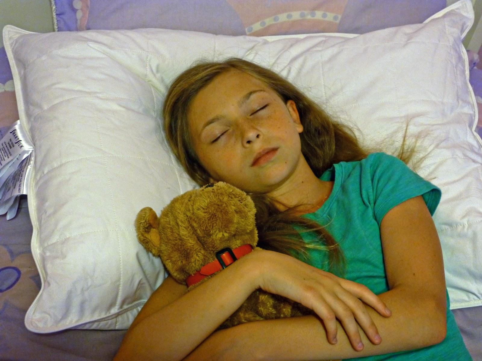 girl sleeping