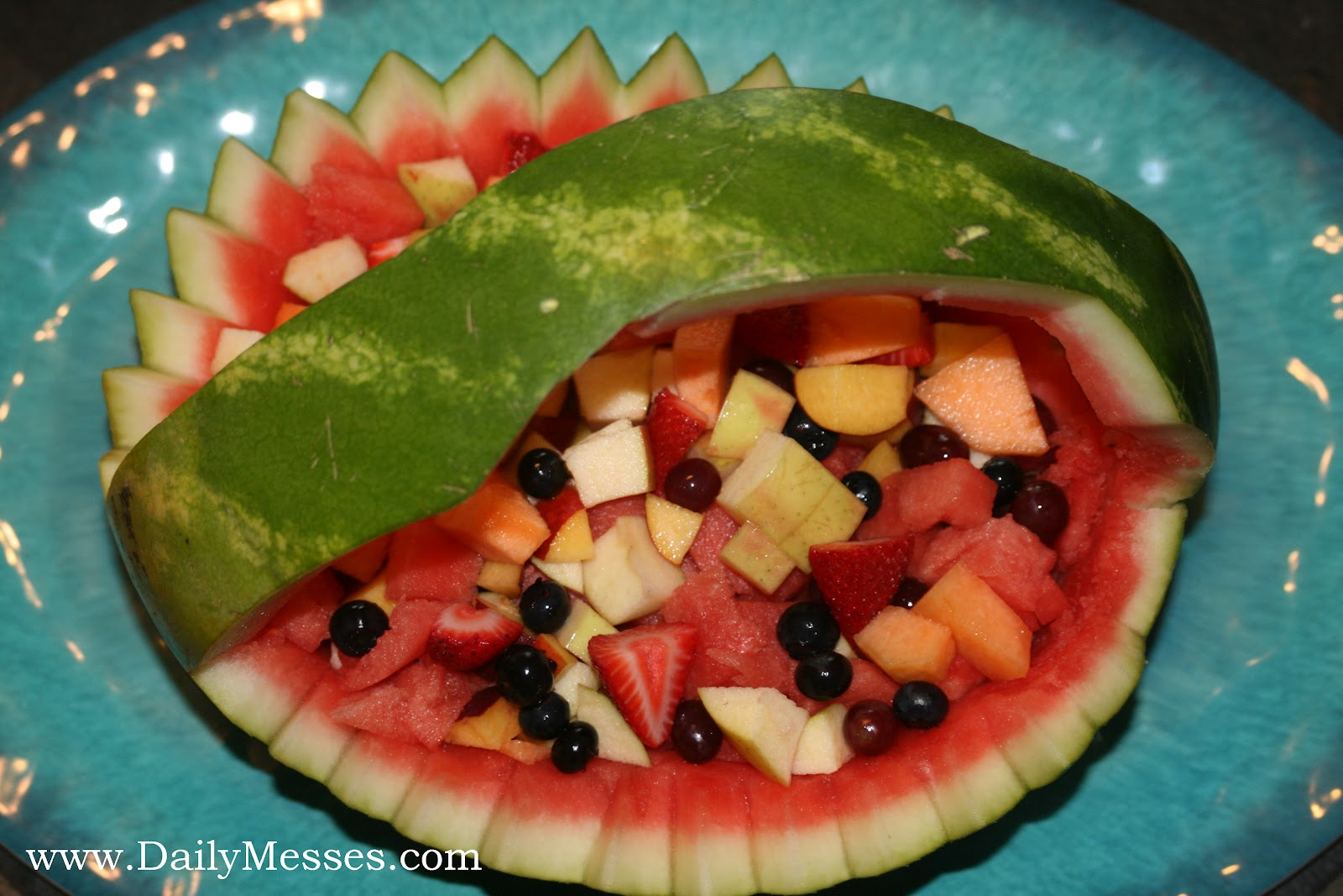 Daily Messes Watermelon Basket