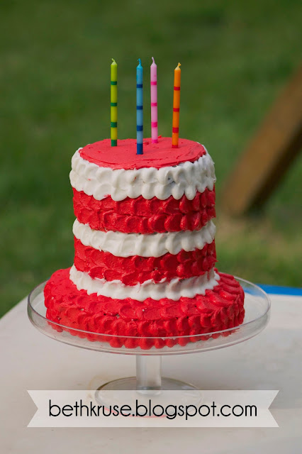 Putting Dowel Rods In A Cake For Support