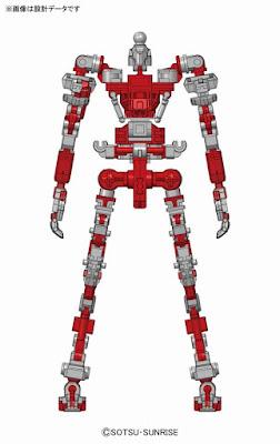 Real Grade Gundam Astray Red Frame official CG concept inner frame art 00