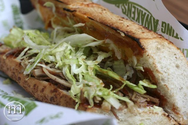 Quiznos BBQ Pork sandwich
