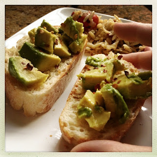 Recipe: Avocado bruschetta