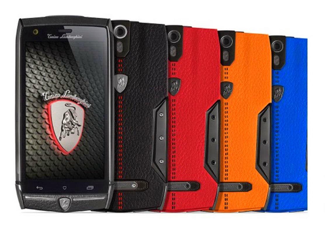 Lamborghini unveils new smart phone 88 Tauri