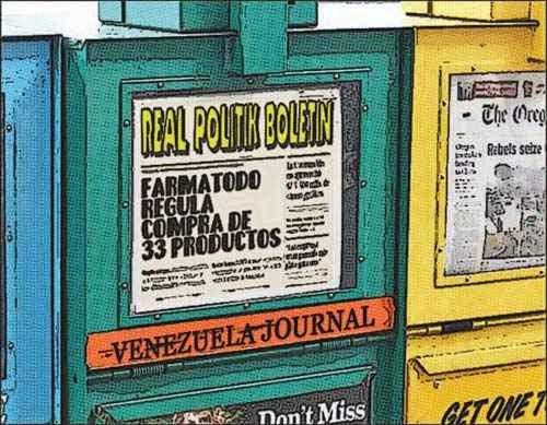 Newsstand tipo cómic - Farmatodo Venezuela