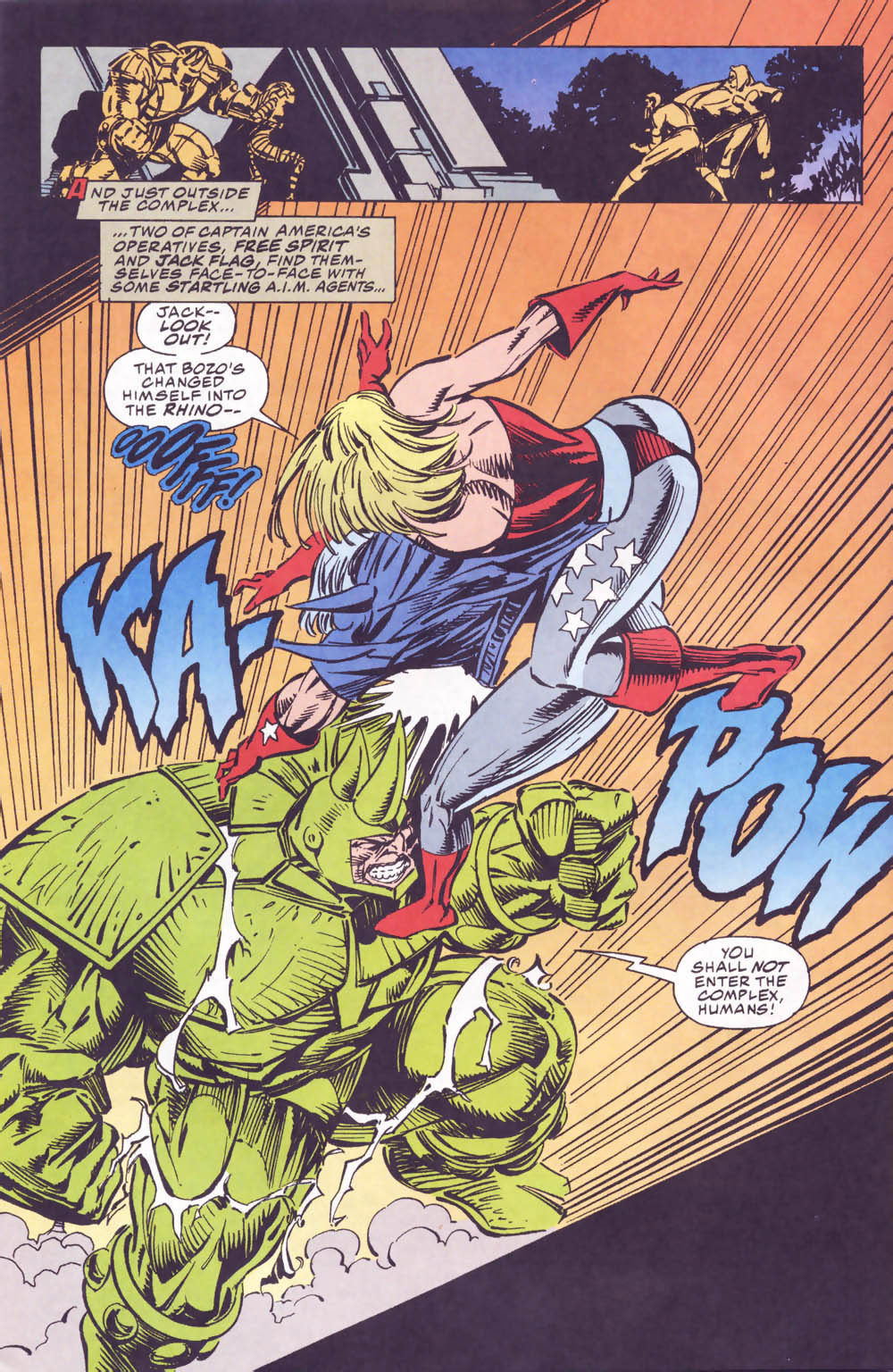 Captain America (1968) Issue #440b #393 - English 13