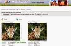 Optimizar imágenes para la web: Web Resizer