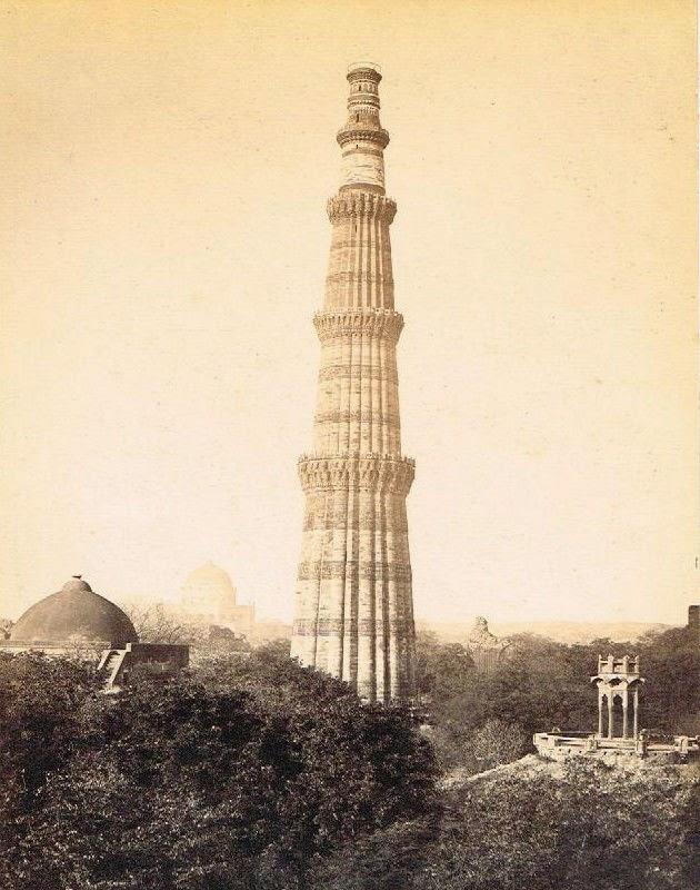 Qutb Minar - Delhi c.1880's