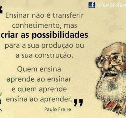 Do Patrono Paulo Freire