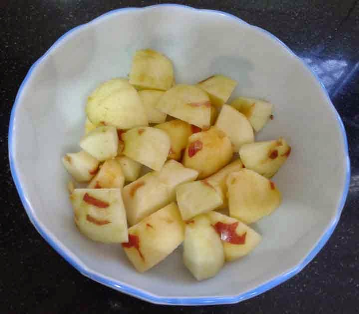 how to make apples into baby food