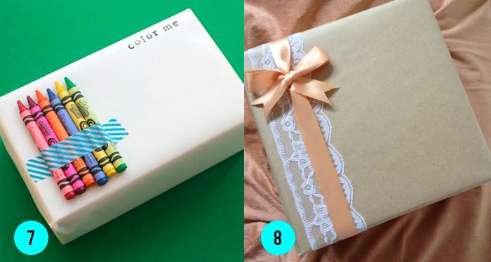 DIY ideas para envolver regalos