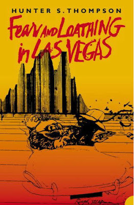 The book jacket for Hunter S. Thompson's best book, Fear and Loathing in Las Vegas