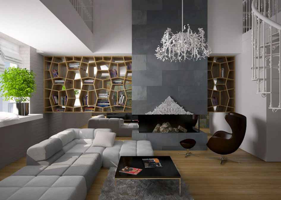 desain ruang tamu dan keluarga minimalis minimalist