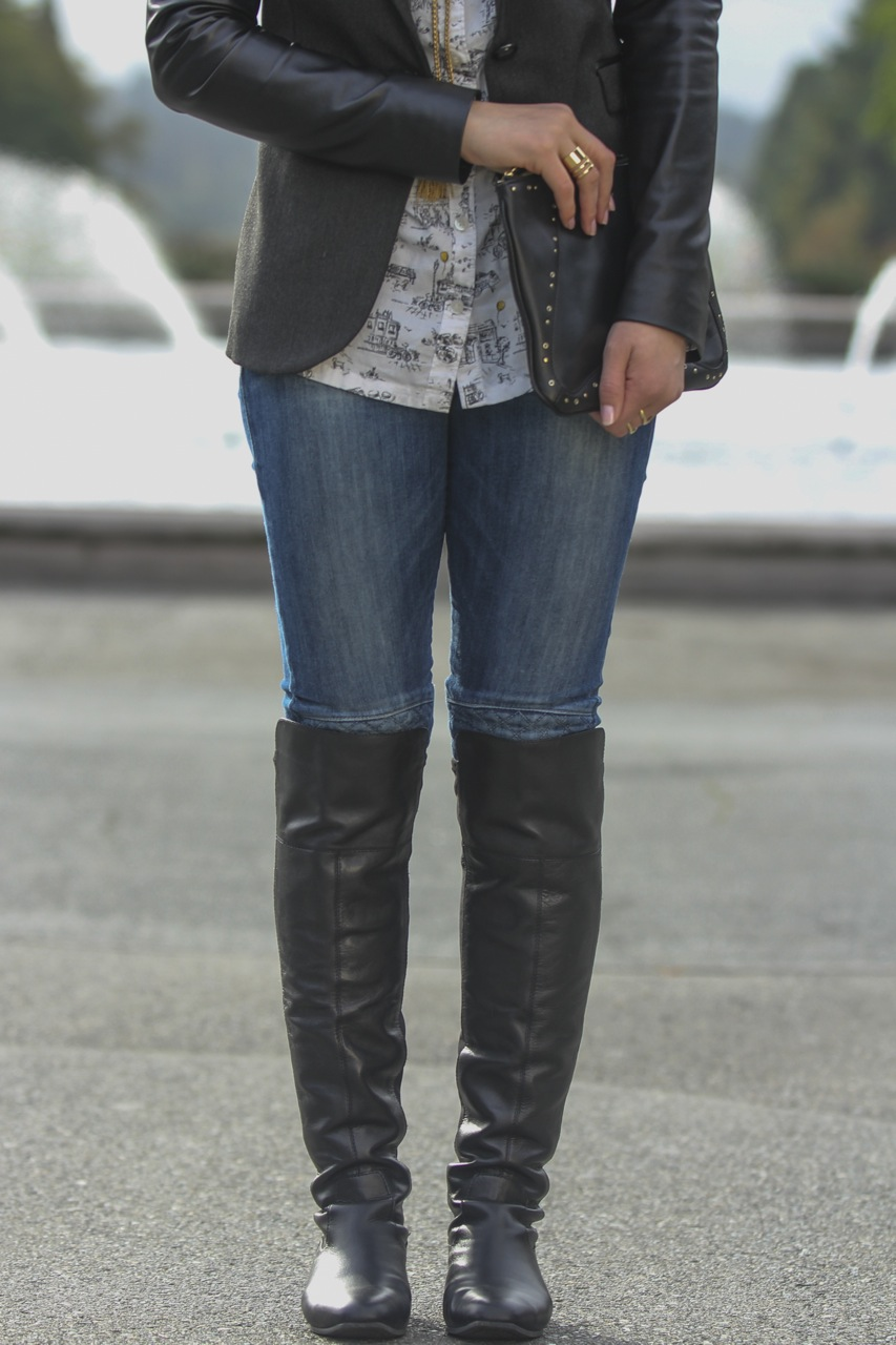 Over The Knee Boots For Large Calves - Boot Hto
