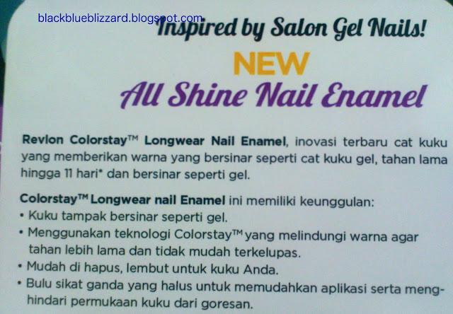 revlon colorstay,longwear nail enamel