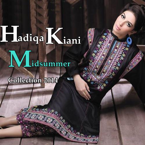 H-Kiani Fabric World Midsummer Collection'14