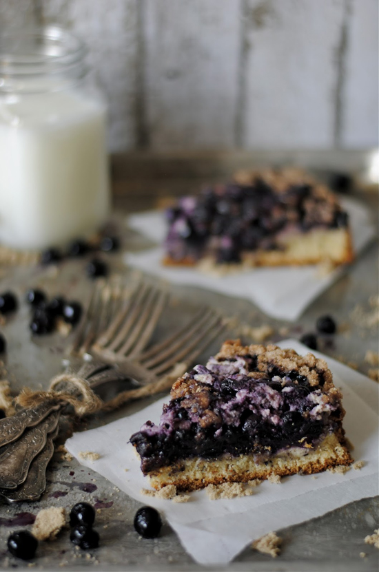Blueberry cream cheese coffee cake recipe by HowTo: Simplify