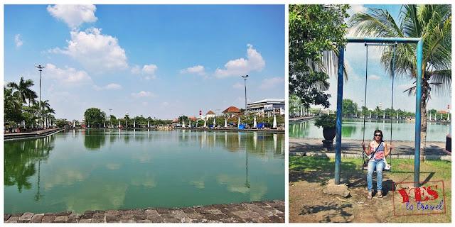 Semerang's water reservoir