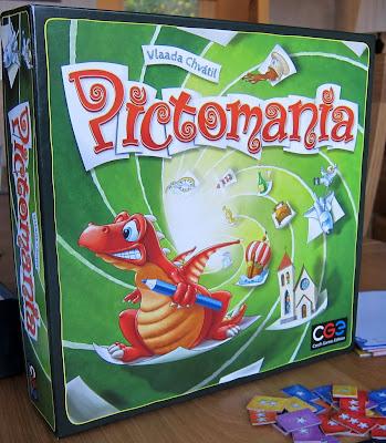 Pictomania - The box artwork