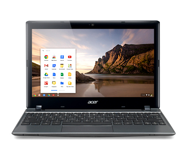 Acer C710-2847 Chromebook Review screenshot 2