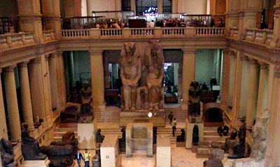 Ancient artefacts crumble in Cairo's central museum