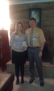 Dwight and Angela Office Costume