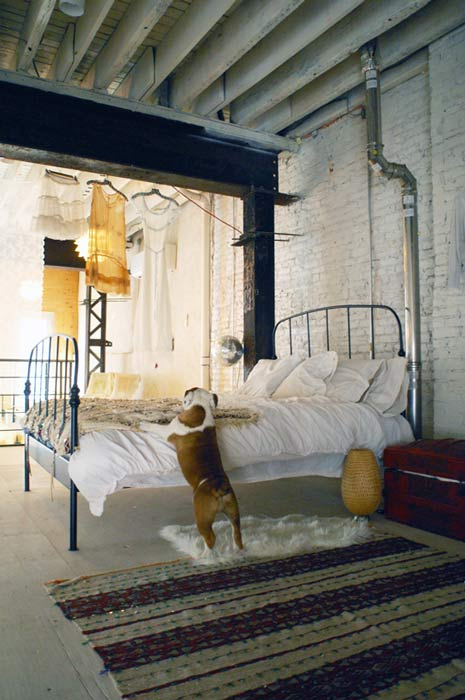 My scandinavian home a bohemian industrial style Industrial scandinavian bedroom
