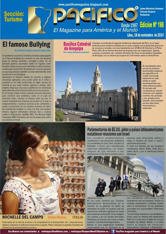 Revista Pacífico Nº 198 Turismo