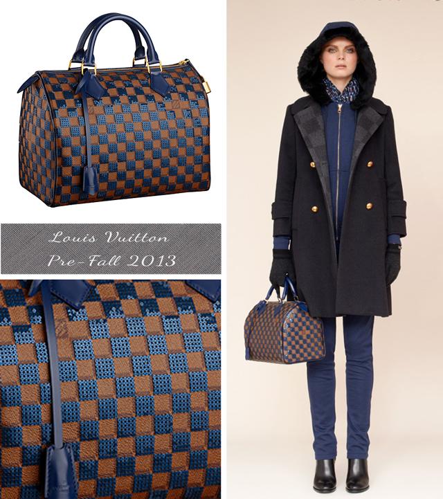 Louis Vuitton Pre Fall 2013 - Speedy 30 Paillettes / Sequin Speedy 30