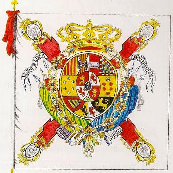 """Bandera del Regimiento de Infantería """"Burgos"""""""