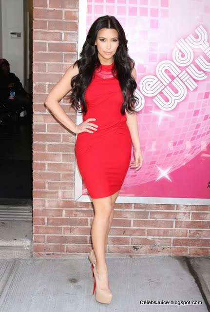 "Kim Kardashian at ""The Wendy Williams Show"" in New York-11"