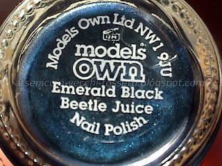 Models Own Emerald Black Beetle Juice