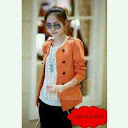 Rajut Blazer orange
