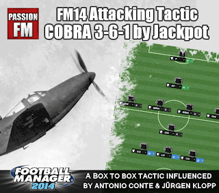 Football Manager 2014 Attacking Tactic Cobra by Passion4FM