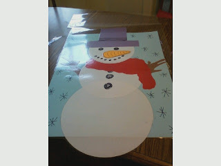 Home Depot Snowman Decor