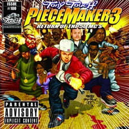 Tony Touch - Piece Maker 3: Return of the 50 Mcs (Cover)