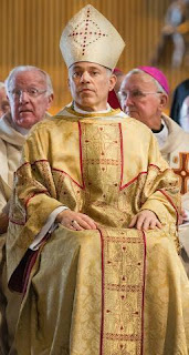 "Archbishop Salvatore Cordeileone in ""Palace Casual"""