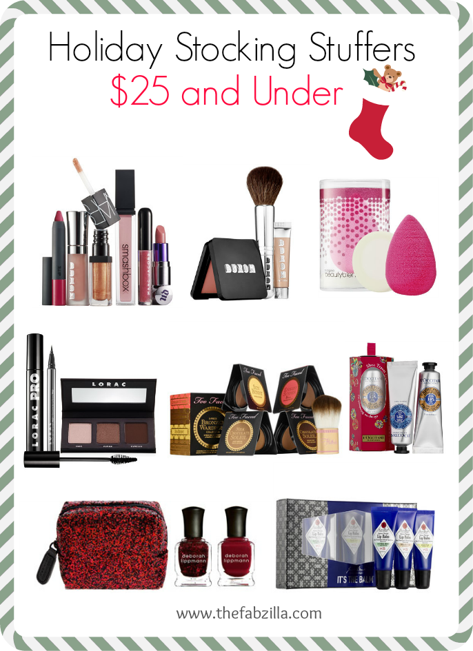 Holiday Stocking Stuffers $25 and Under, Beauty, Skincare, Makeup