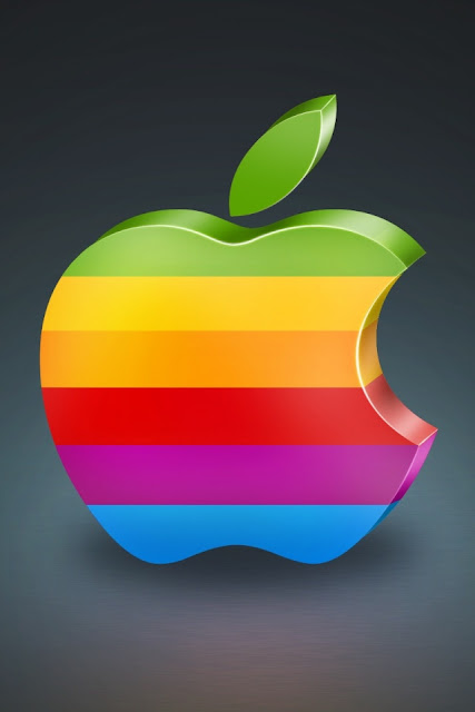 Apple 3D iPhone Wallpaper By TipTechNews.com