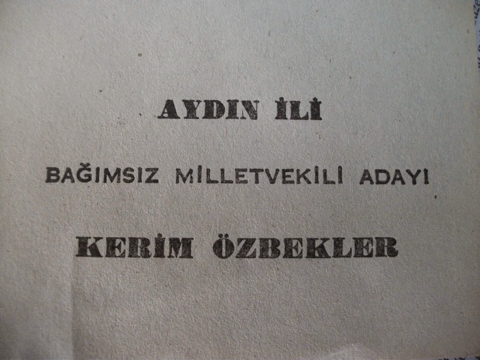 KERİM ÖZBEKLER FOTOĞRAF GALERİSİ...